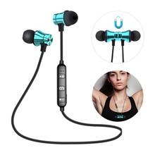 2019 New Wireless Bluetooth Earphones Sport Magnetic Stereo Earpiece Fone De Ouvido For IPhone Xiaom