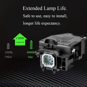 Image 3 - Лампа проектора NP15LP/модуль лампы для NEC M260X M260W M300X M300XG M311X M260XS M230X M271W M271X M311X с гарантией на 180 дней