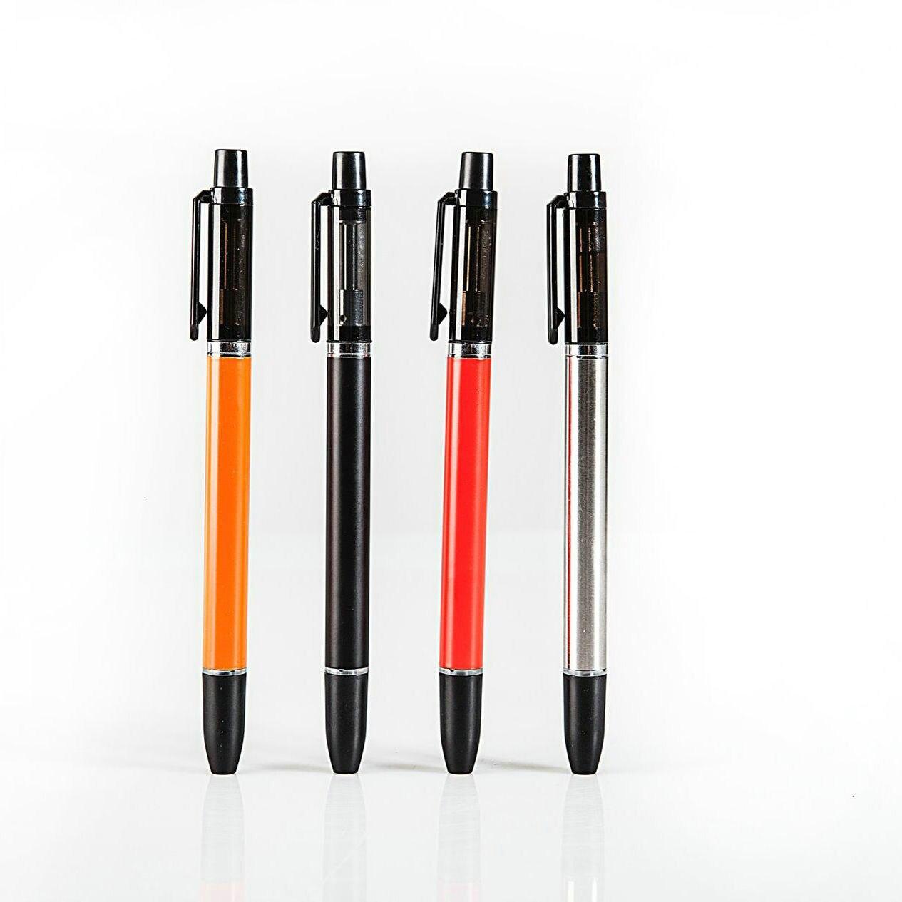 SS304 E-Cigarette Writing Pen Vape Kit 350mAh Built-in Battery With1ml Capacity E-cigarette Vapee Rda Rta Vapes VS EGO