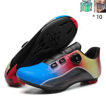 New Style Speed Shoes Men MTB Outdoor Sports Bicycle Shoes Self-locking Road Bike Shoes Professional Racing Bicycle Sneaker 7