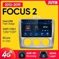 Цзюинь 1 din android для Форд Фокус 2 3 mk2 mk3 2004 - 2011 автомобиль Радио Мультимедийный видеоплеер автомобильный навигатор GPS без 2din 2 din d