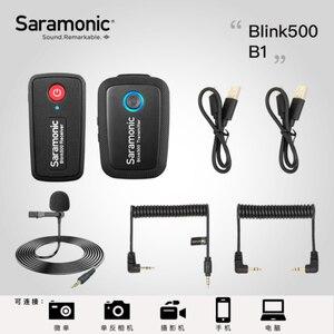Image 3 - Saramonic Blink 500 Dual ไมโครโฟนไร้สายB1 B2 B5 B6 2.4GHสำหรับCanon Nikon Sony Blink500