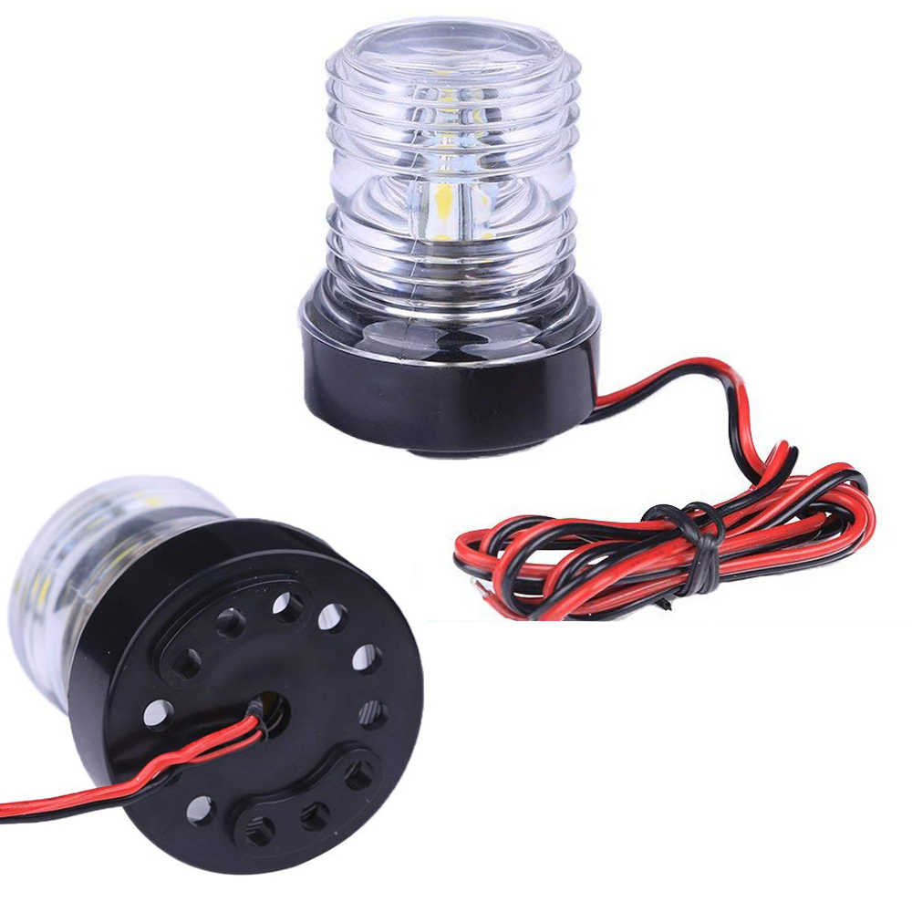 Super Bright Marine Boot Navigatie Anker Licht 12 V 360 Graden Alle Ronde Boot Light White Lamp 6300K Led navigatie Licht