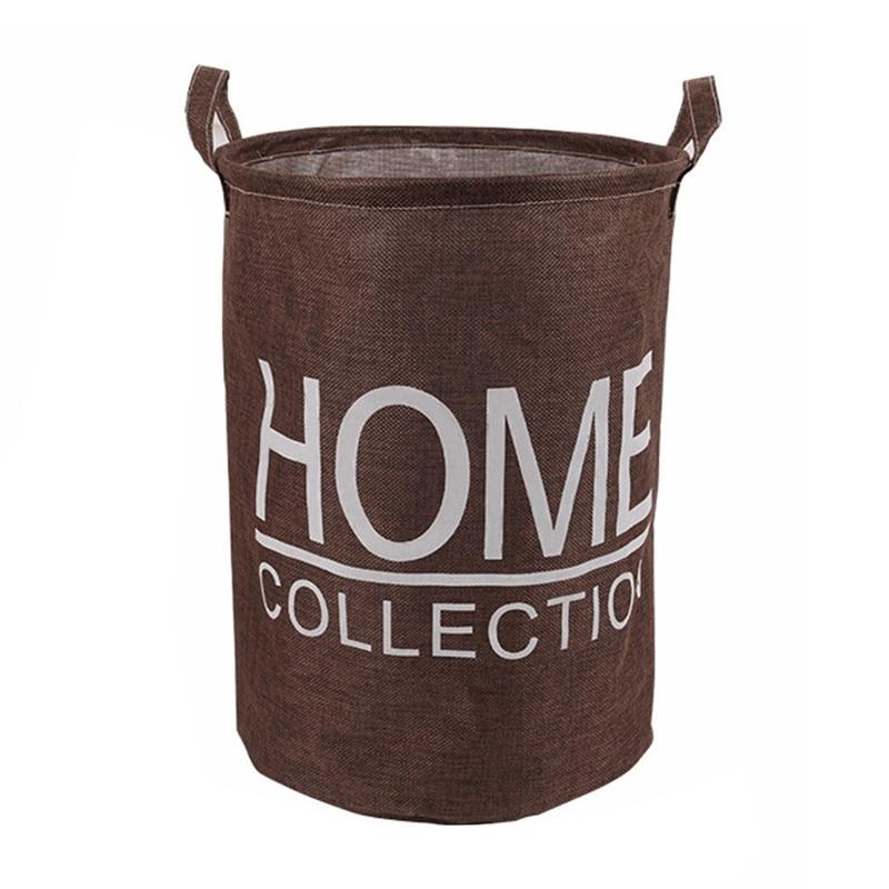 Laundry Basket Dirty Clothes Storage Fashion Waterproof Large Basket Debris Storage Box A803 22