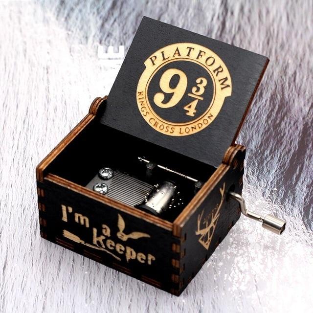 Hot Jurassic Park Hand Crank Music Box Queen  Musical for Birthday Christmas Gift Home Decor 1