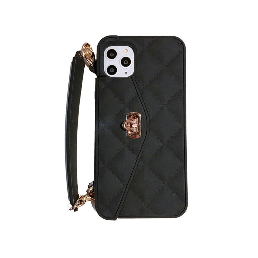 Lyxigt märke Plånbokskortsväska Bärbar handväska mjuk - Reservdelar och tillbehör för mobiltelefoner - Foto 6