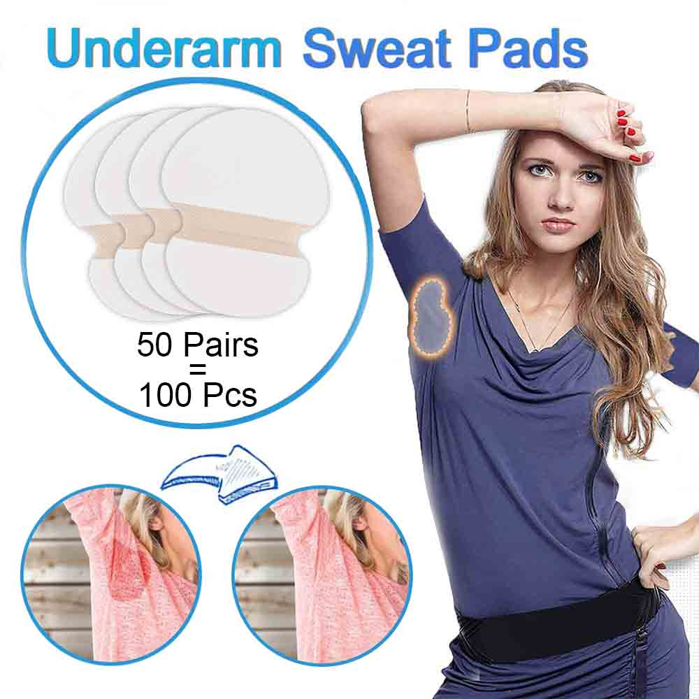 100/200/300/400pcs Summer Desodorante Underarm Sweat Pads Liners From Sweat Absorbs Pads For Women Anti Sweat Armpit Stickers