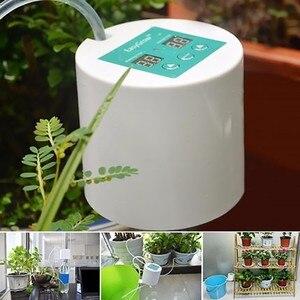 Image 5 - Intelligente Giardino Succulente Ricaricabile Dispositivo Automatico di Irrigazione Pianta In Vaso Irrigazione a goccia Timer Sistema di Irrigazione Kit