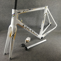 T1100 UD Gold logo White Colnago C64 carbon road bike frames Bicycle Frameset Concept C60 V3Rs with 48/50/52/54/56cm