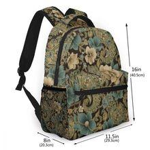 NOISYDESIGNS 2019 New Hot Sale Softback Solid Women Student Vintage Floral Printed Backpack School Shoulder Handle Bag
