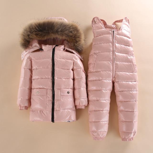 子供 2 ピース暖かいコート