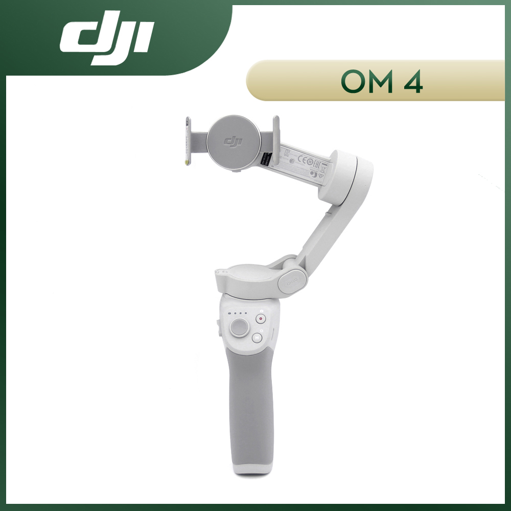 DJI OM4 OSMO Mobile 4 3-Axis Foldable Handheld Gimbal Stabilizer Selfie Tripod Extension Rod Pole for SmartPhone Magnetic Design