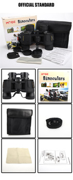 New 8X40 Professional Powerful Binoculars Long range Large Eyepiece Telescope HD  Concert Outdoor Camping Equipment 6