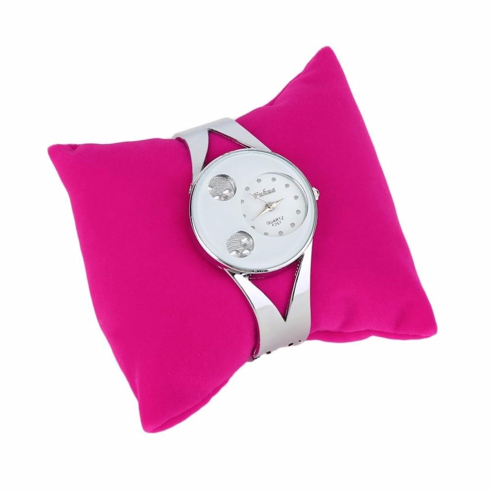 1pcs Velvet Linen Bracelet Bangle Watch Pillow Holder For Jewelry Display Case Boxes jewellery box packaging porta gioielli