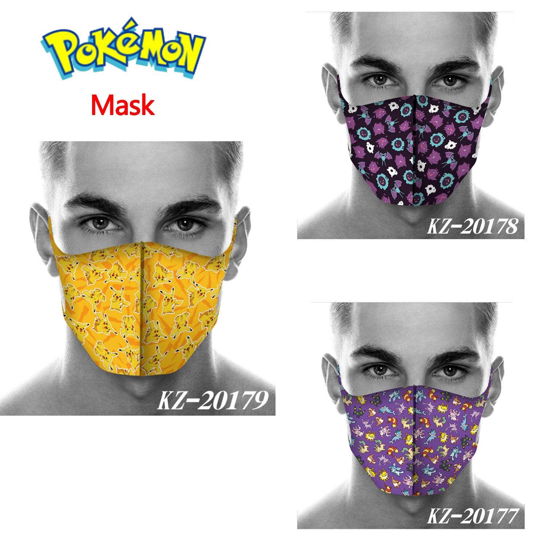 new-cartoon-font-b-pokemon-b-font-pocket-monster-pikachu-cosplay-masks-cotton-unsex-girls-smile-kawaii-sunscreen-outdoor-travel-sreet-mask