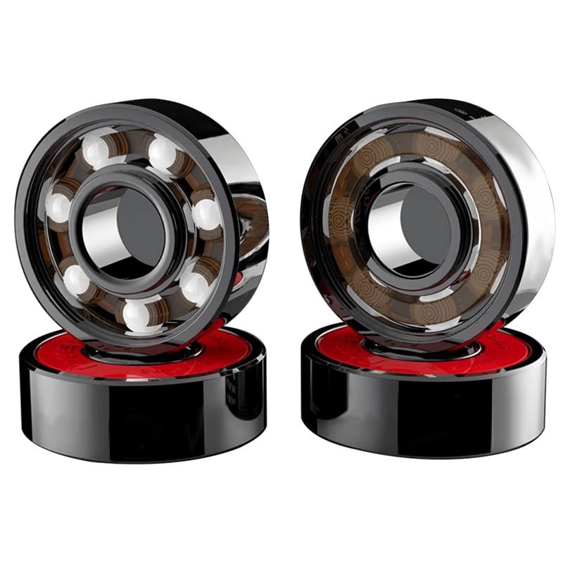 NEW 8 Pcs Ceramic Bearings High Speed Wear Resistant For Skate Skateboard Wheel
