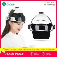 Электрический массажер для головы, массажный шлем для мозга с музыкой, регулируемая головка, семейный массаж головы
