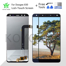 цена на 5.5For Doogee X30 LCD Display+Touch Screen Assembly Repair Part Phone Accessories For Doogee X30 Cellphone Part