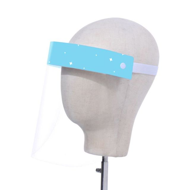 Child Transparent Protect Mask Protective Adjustable Anti-saliva Dust-proof Full Face Cover Children Mask Visor Shield