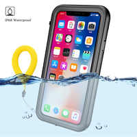 360 Schützen für Apple iPhone XS Max Fall iPhone 11 Pro Max Wasser Proof PC Abdeckung für iPhonex Coque iPhone xr Xs X Wasserdicht fall