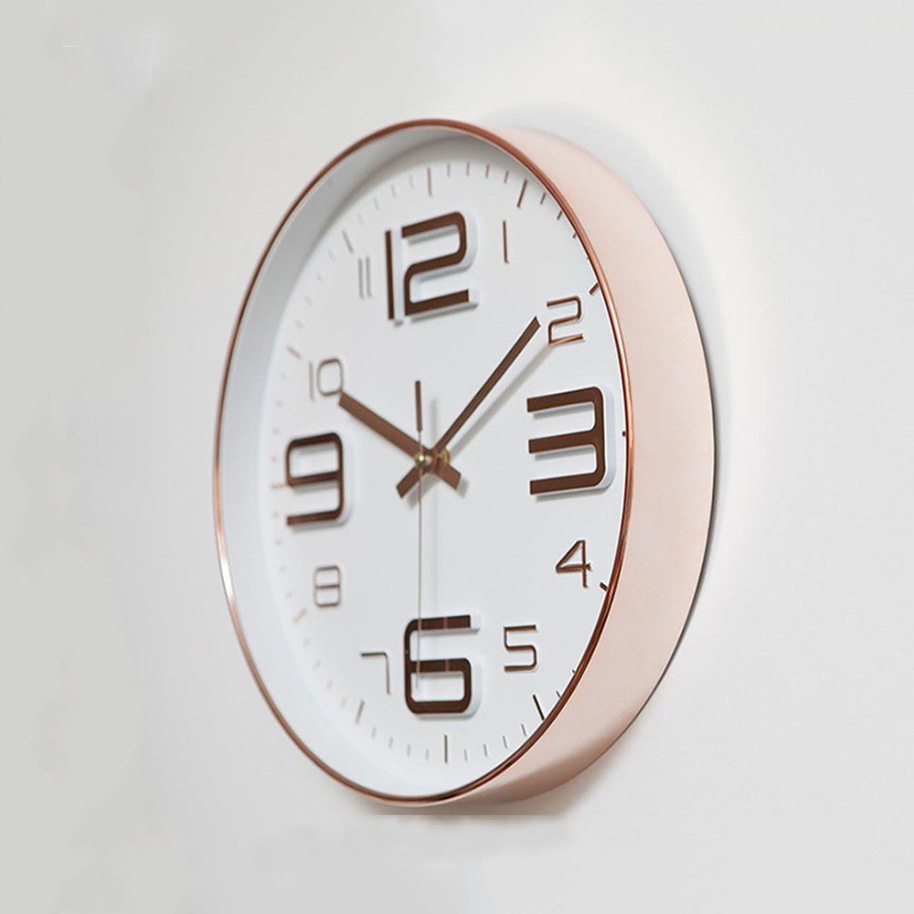 Image 2 - Modern Simple Wall Clocks Living Room Round Thin Box Home  Decoration Wall Clock Bedroom Quiet Clockhome decor wall clocksimple  wall clockwall clock
