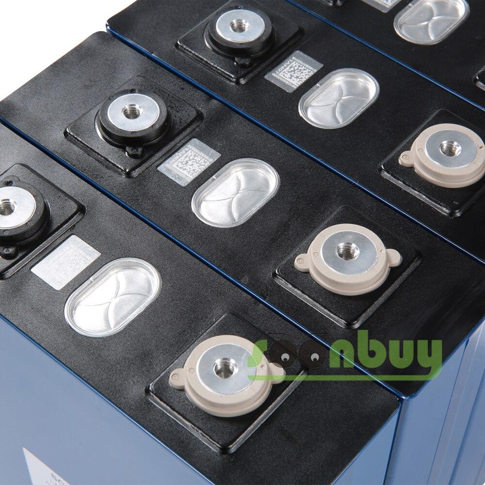 Nouvelle batterie rechargeable Lifepo4 3.2v 200ah 3.2v 12V 200ah batterie adaptée à l'énergie solaire longue durée 3500 Cycles EUUS sans taxe - 4