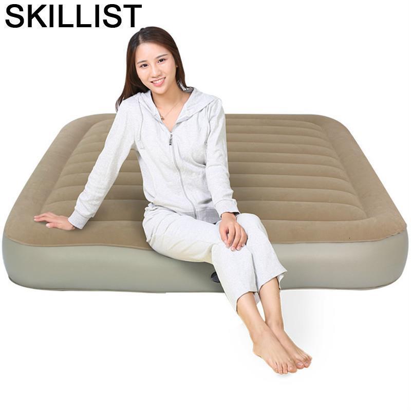La Outdoor Yatak Travel Moveis Para Casa Moderna Bett Folding Mobili Dormitorio Cama Bedroom Lit Furniture Home Inflatable Bed
