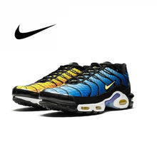 "Nike Air Max Plus TN SE ""Greedy"" Original New Arrival Men Running Shoes Breathable Outdoor Sports Sneakers AV7021-001(China)"