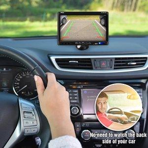 Image 5 - Misayaee Cámara de luz de freno para coche, luces de 3ª parada, vista trasera de coche HD, para Iveco Daily VI 6, 2015 2019, visión nocturna + Pantalla de 7,0 pulgadas