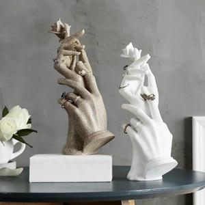 Hand mold Ring storage Home de