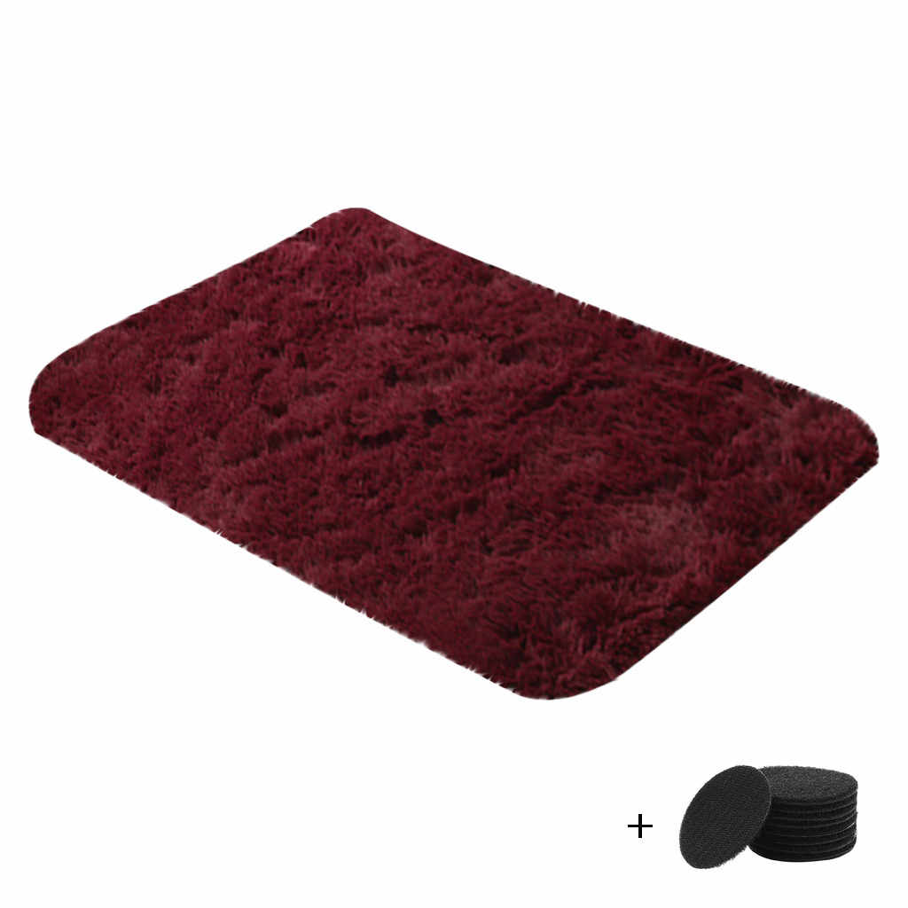 家庭用ブランケットスーパーソフトフェイクファー寝室用ソファ、リビングルームの家の玄関カーペット現代carpetes коврик в прихожую