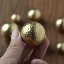 Manual forging brass handles for furniture vintage kids gold door knobs and kitchen animals drawer inCabinetPulls t bar