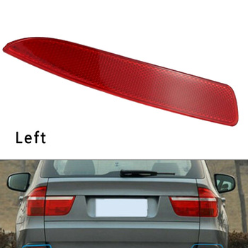 1pc/2pcs New Auto Car Left/Right Rear Bumper Reflector For BMW X5 E70 2007-2009 image