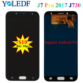 5.5 LCD For Samsung Galaxy J7 Pro 2017 J730 Display J730F J730F/DS J730FM/DS J730GM/DS Touch Screen Digitizer Assembly Pantalla image