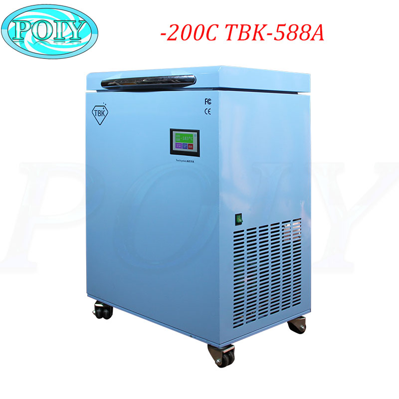 TBK-588A LCD Freezing Machine With -200C Lowest Working Temperature 2