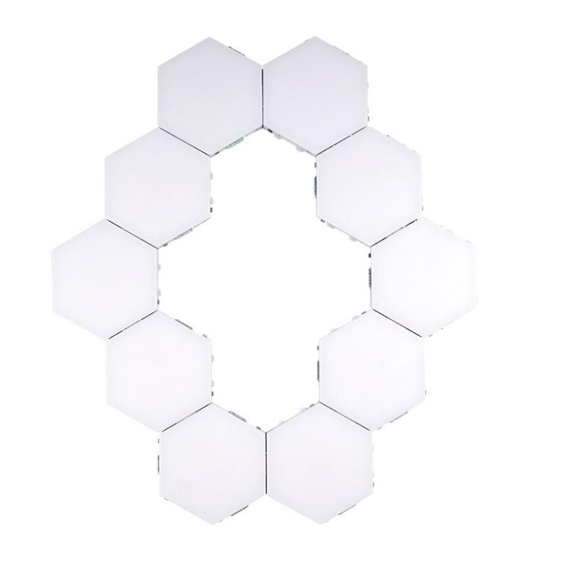 criativo decoração de parede lampara