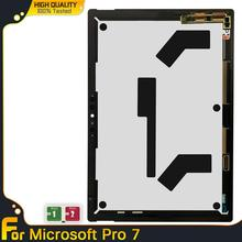 Dla Microsoft Surface Pro 7 Pro7 1866 wyświetlacz LCD dotykowy Digitizer montaż dla microsoft pro 7 surface Pro 7 lcd z tablicą tanie tanio lianganbing NONE Tablet lcd CN (pochodzenie) 10 ~ 13 cal For Microsoft Surface Pro 7 Pojemnościowy ekran Test one by one