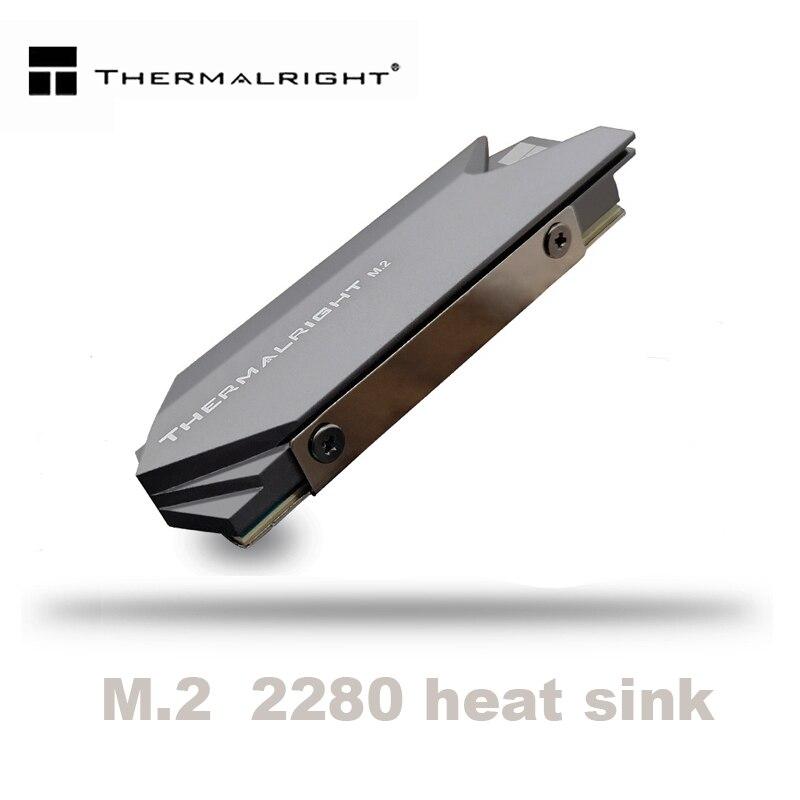Thermalright Dissipador de Calor de Alumínio Cooler dissipador de Calor do Dissipador de Calor Almofadas Térmicas para NGFF M.2 NVME PCIE 2280 Disco Rígido SSD disco