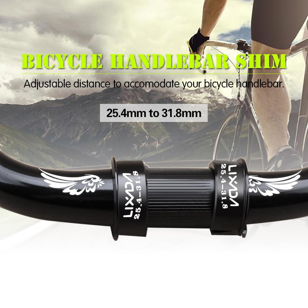 BICYCLE HANDLEBAR SHIM ALLOY CONVERT 25.4mm TO 31.8mm BMX MTB ROAD BIKES NEW
