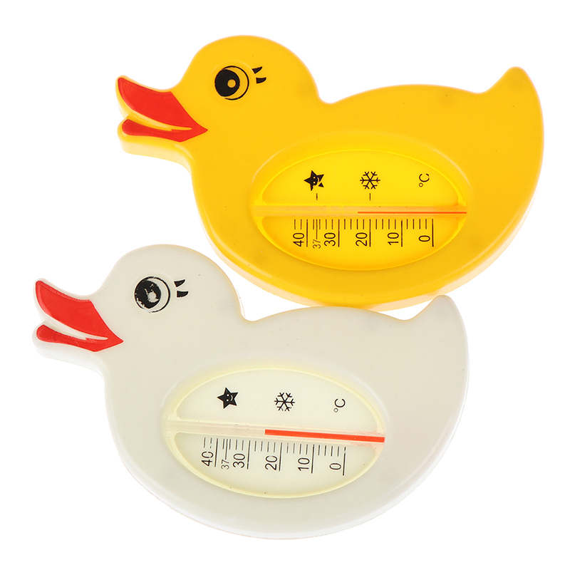 1pc Baby Bath Thermometer For Newborn Small Bear Fish Dolphin Duck Water Temperature Meter Bath Baby Bath Toys Thermometer Bath