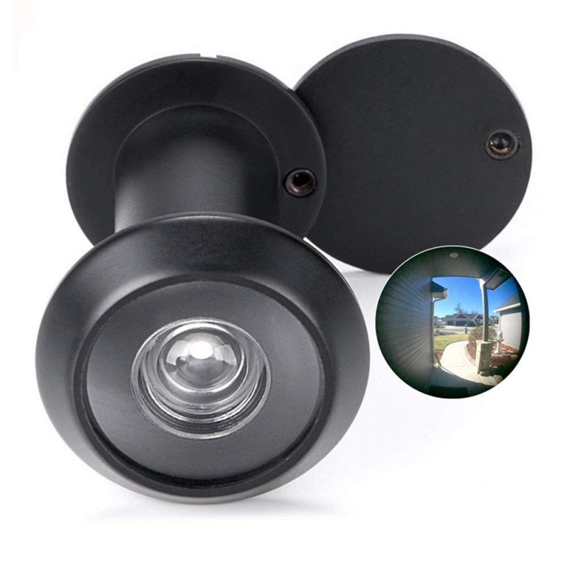 Door Camera Peephole Clear Imaging Door Viewer Eye With With Privacy Cover 180-degree Viewer