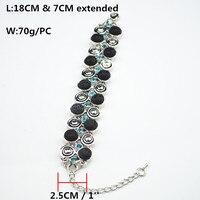 i8 e Elastic Bracelet Stone Bead Strand Bangle Jewelry Factory Price Vin