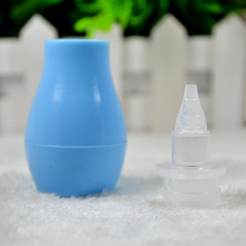 Newborn Baby Nasal Aspirator Kids Anti-countercurrent Silicone Soft Nasal Suction Device Infant Nose Cleaner