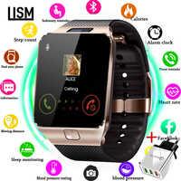 Reloj inteligente para hombres y niños reloj inteligente para mujeres Android Bluetooth con llamada música fotografía tarjeta SIM TF inteligente