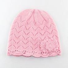 Шапка для маленьких девочек зимняя вязаная шапка осенняя теплая