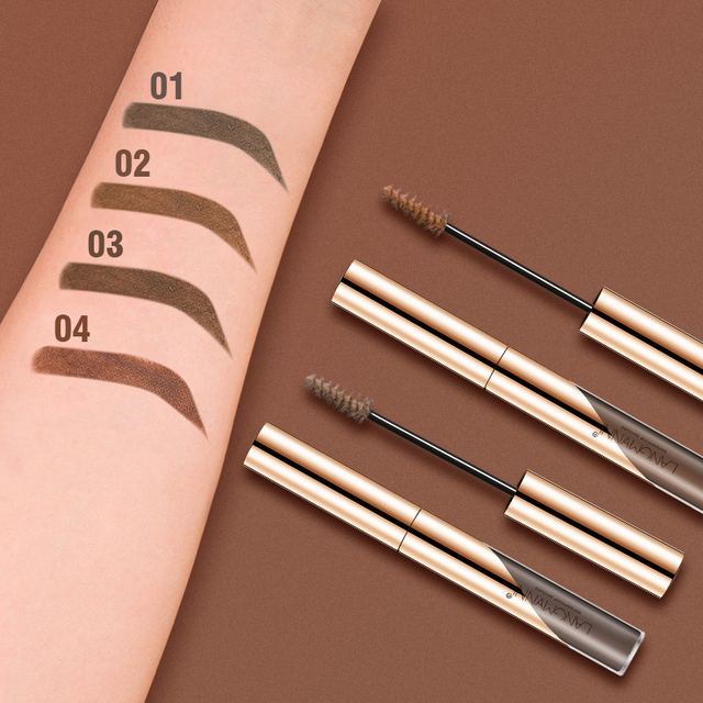 Langmanni Professional Eyebrow Cream Eyebrow Enhancers Cosmetic Eye Brow Dye Cream Pencil Long-lasting Waterproof Make Up Tools 5