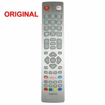 New Original Remote Control SHWRMC0121 with Netflix Youtube For Sharp Aquos Full HD Smart LED TV LC32HG5342KF LC40CFG3021KF image