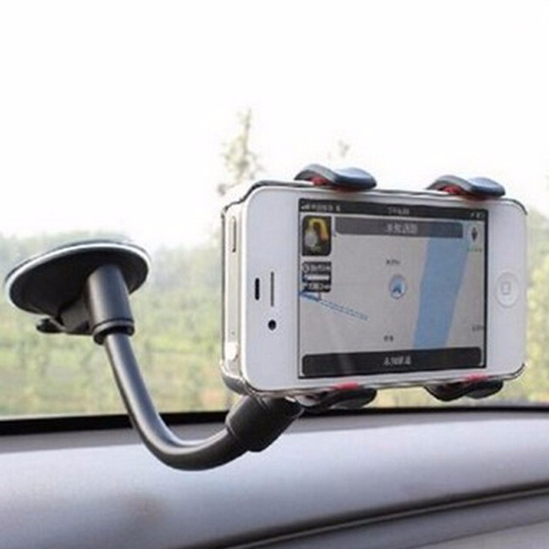 Universal Windshield Car Sucker Mount Bracket Car Phone Holder Stand For IPhone 7 8 11 XR X XS Samsung S10 Plus S7 GPS