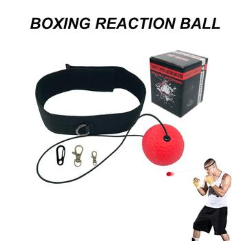 fight ball lomachenko punching ball boxing equipment training apparatus muay thai boxing trainer accessories speed fast ball gym Boxing Reflex Speed Punch Ball Boxing Equipment Training Apparatus Fighting Speed Training Head band Exercise Equipment
