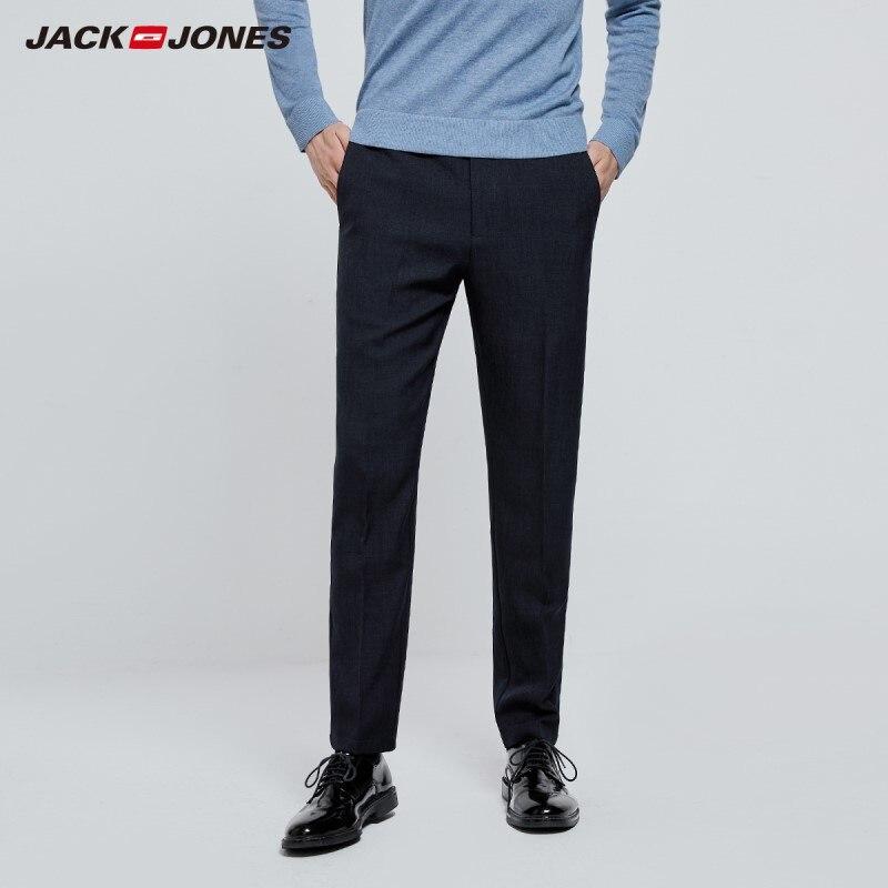 JackJones Men's Basic Business Smart Casual Pants 219314537